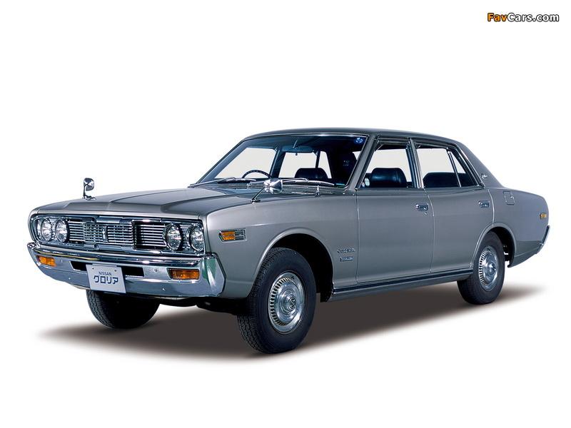 Nissan Gloria Sedan (230) 1971–75 wallpapers (800 x 600)