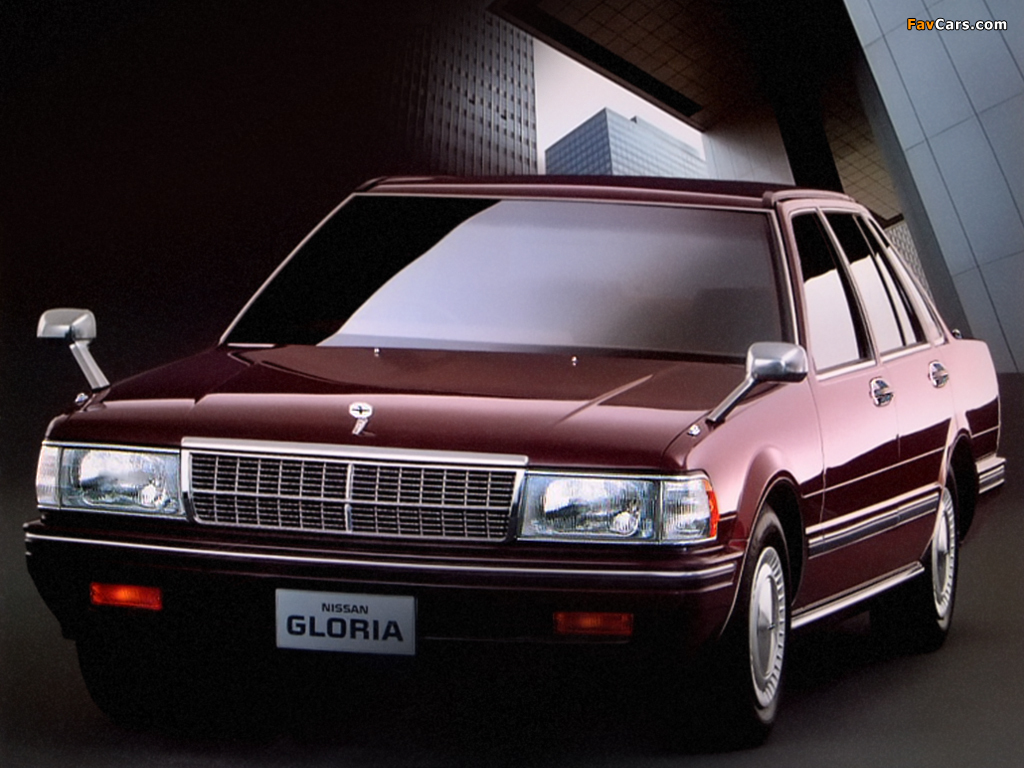 Nissan Gloria V20E Brougham Sedan (Y31) 1987-89 photos (1024 x 768)