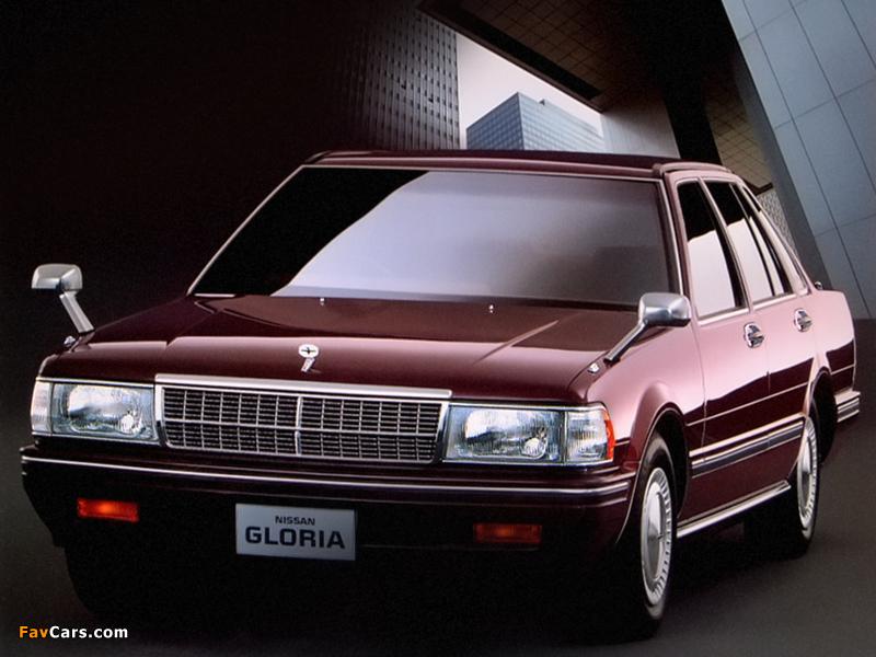 Nissan Gloria V20E Brougham Sedan (Y31) 1987-89 photos (800 x 600)