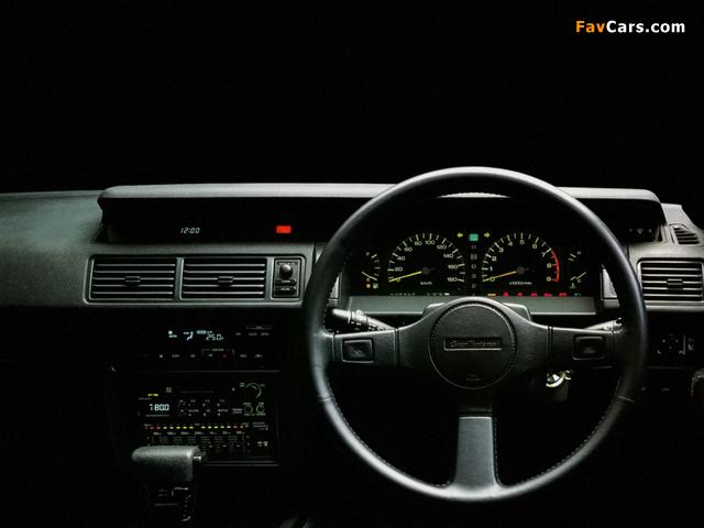 Photos of Nissan Gloria V20 Twincam Turbo Gran Turismo SV Hardtop (Y31) 1989-91 (640 x 480)