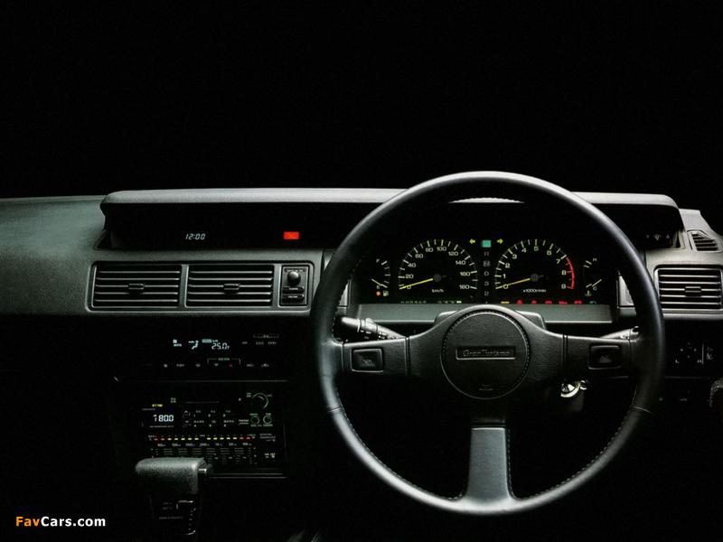 Photos of Nissan Gloria V20 Twincam Turbo Gran Turismo SV Hardtop (Y31) 1989-91 (800 x 600)