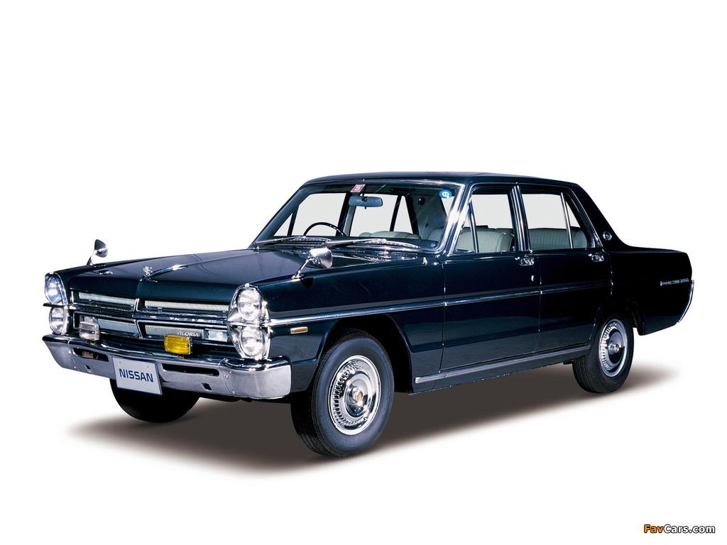 Nissan Gloria (A30) 1967–71 wallpapers (1024 x 768)