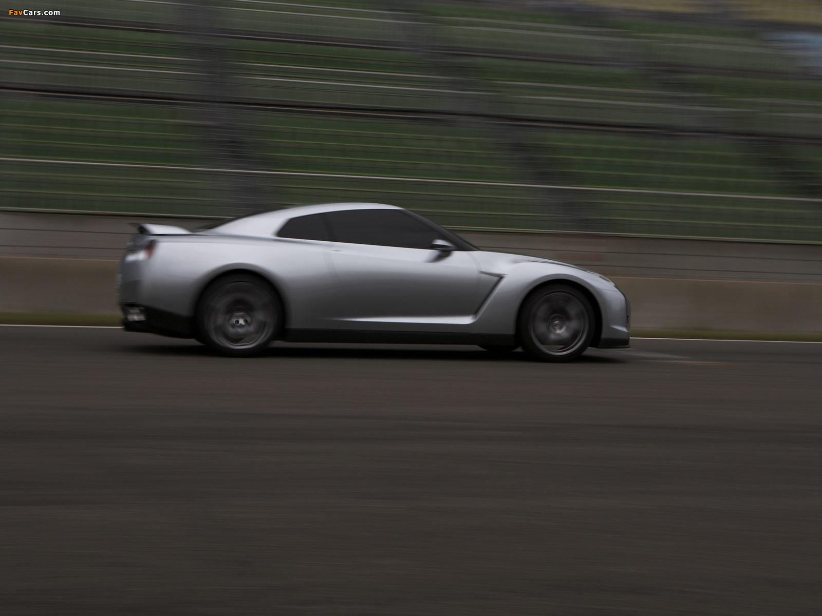 Images of Nissan GT-R Proto Concept 2005 (1600 x 1200)