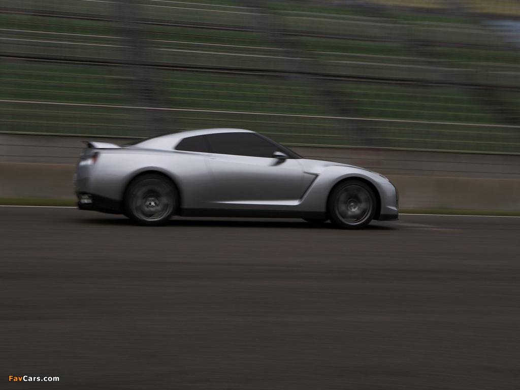Images of Nissan GT-R Proto Concept 2005 (1024 x 768)