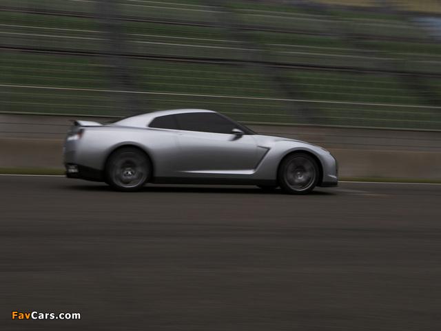 Images of Nissan GT-R Proto Concept 2005 (640 x 480)