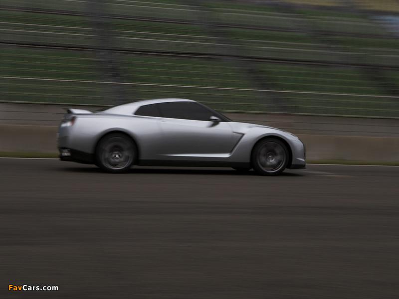 Images of Nissan GT-R Proto Concept 2005 (800 x 600)