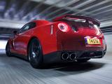 Images of Nissan GT-R Black Edition UK-spec 2008–10