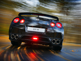 Images of Nissan GT-R Black Edition 2008–10