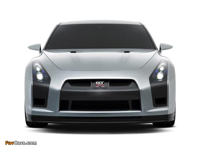 Nissan GT-R Proto Concept 2005 photos (640 x 480)