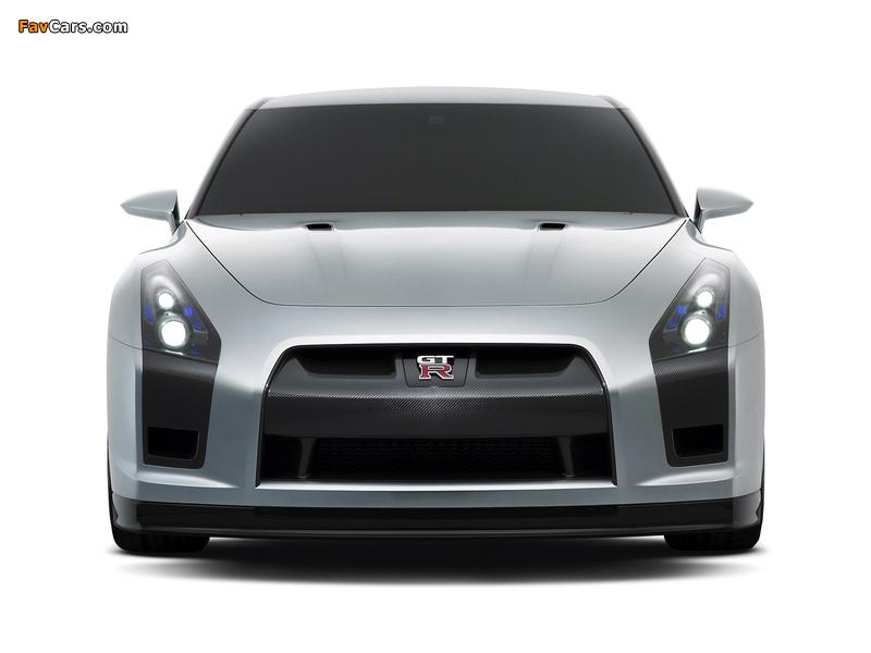 Nissan GT-R Proto Concept 2005 photos (800 x 600)