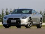Nissan GT-R Black Edition JP-spec (R35) 2008–10 images