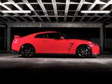 Nissan GT-R Black Edition UK-spec 2008–10 pictures