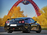 Nissan GT-R Black Edition 2008–10 pictures