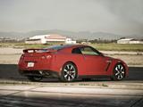 Nissan GT-R Black Edition US-spec (R35) 2008–10 wallpapers