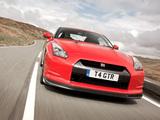 Nissan GT-R Black Edition UK-spec 2008–10 wallpapers