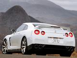 Nissan GT-R JP-spec (R35) 2008–10 wallpapers