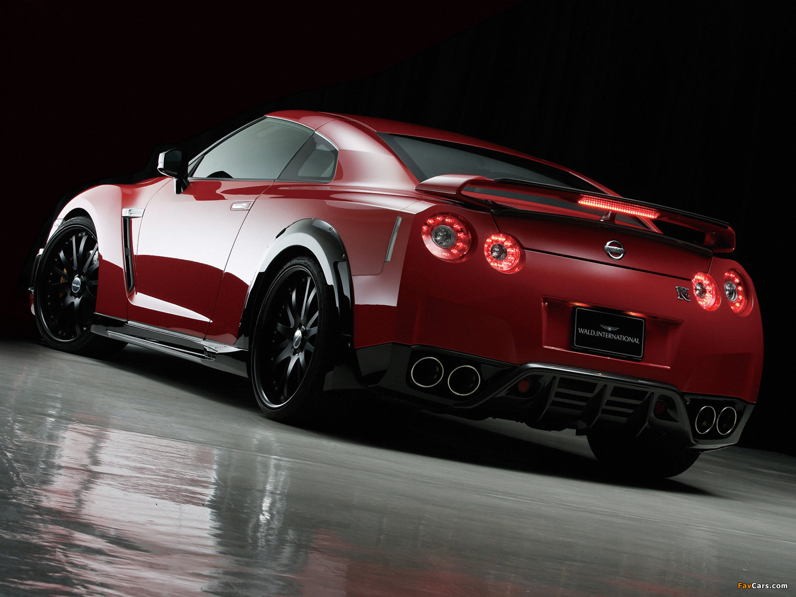 Wald Nissan Gt R Sports Line R35 2008 Wallpapers 1600x1200