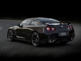 Nissan GT-R Spec V (R35) 2009–10 wallpapers