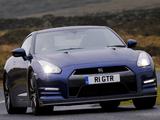 Nissan GT-R Black Edition UK-spec (R35) 2010 images