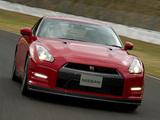 Nissan GT-R Black Edition JP-spec (R35) 2010 images