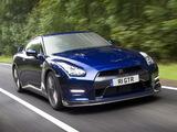 Nissan GT-R Black Edition UK-spec (R35) 2010 photos