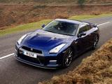 Nissan GT-R Black Edition UK-spec (R35) 2010 pictures