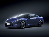 Nissan GT-R Pure Edition For Track Pack JP-spec (R35) 2011 wallpapers