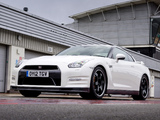 Nissan GT-R Pure Edition For Track Pack UK-spec (R35) 2012 images