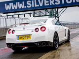 Nissan GT-R Pure Edition For Track Pack UK-spec (R35) 2012 photos