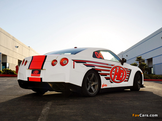 Nissan Sports Car >> HD Motorsports Nissan GT-R (R35) 2012 pictures (640x480)