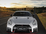 Nissan GT-R Nismo AU-spec (R35) 2017 wallpapers