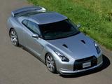 Photos of Nissan GT-R JP-spec (R35) 2008–10