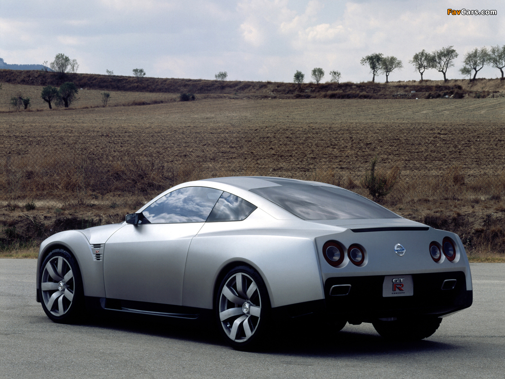 Pictures of Nissan GT-R Proto Concept 2001 (1024 x 768)