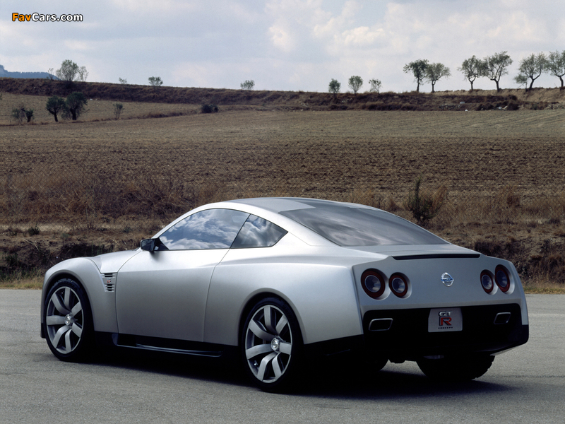 Pictures of Nissan GT-R Proto Concept 2001 (800 x 600)