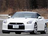Pictures of Nissan GT-R JP-spec (R35) 2008–10