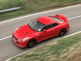Pictures of Nissan GT-R Black Edition UK-spec 2008–10