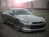 Pictures of Nissan GT-R Black Edition US-spec (R35) 2008–10