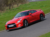 Pictures of Nissan GT-R Black Edition UK-spec (R35) 2010