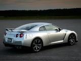 Nissan GT-R Black Edition JP-spec (R35) 2008–10 wallpapers