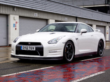 Nissan GT-R Pure Edition For Track Pack UK-spec (R35) 2012 wallpapers