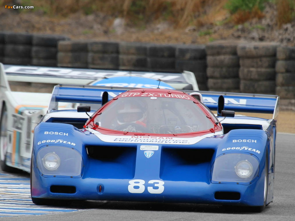 Pictures of Nissan GTP ZX-Turbo 1985–91 (1024 x 768)
