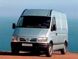 Nissan Interstar High Roof Van 2001–03 wallpapers