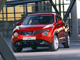 Photos of Nissan Juke ZA-spec (YF15) 2011