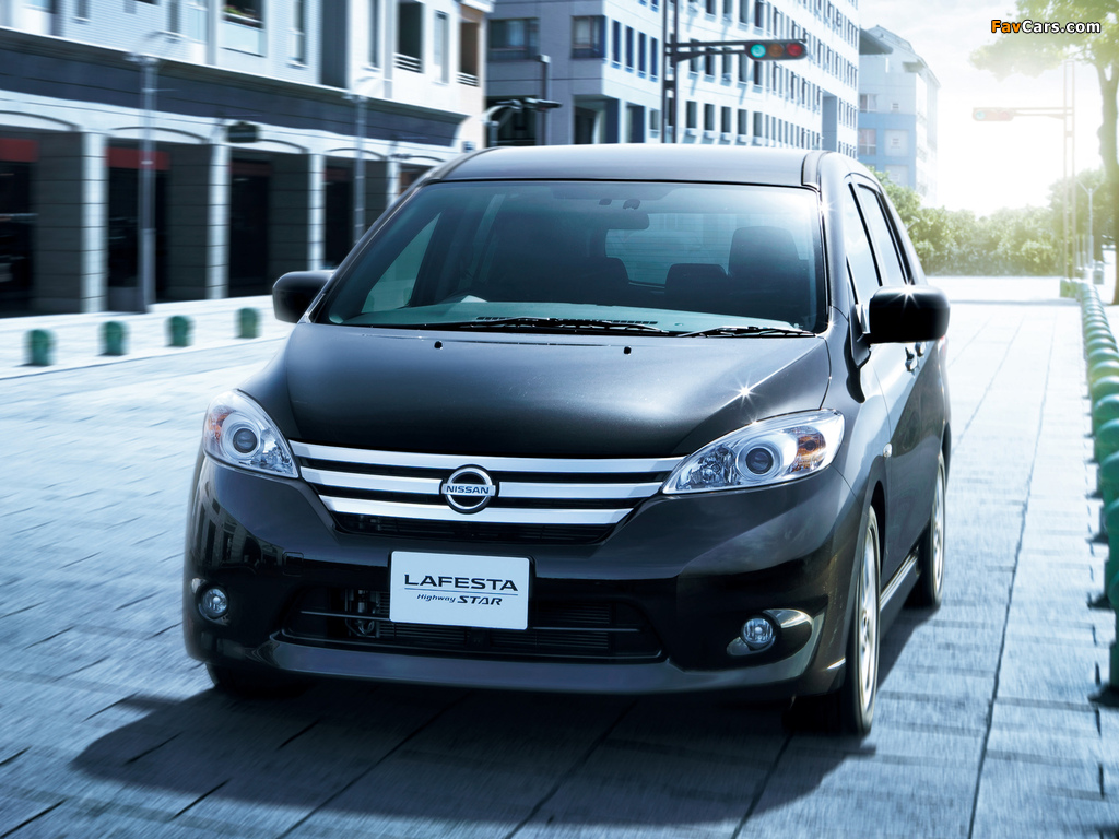 Images of Nissan Lafesta Highway Star (B35) 2011 (1024 x 768)