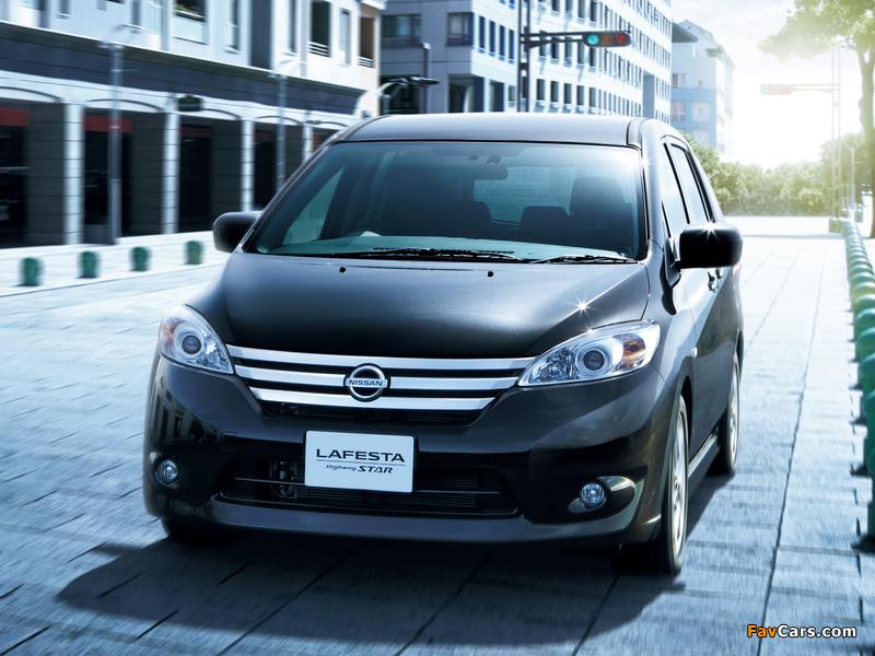 Images of Nissan Lafesta Highway Star (B35) 2011 (800 x 600)