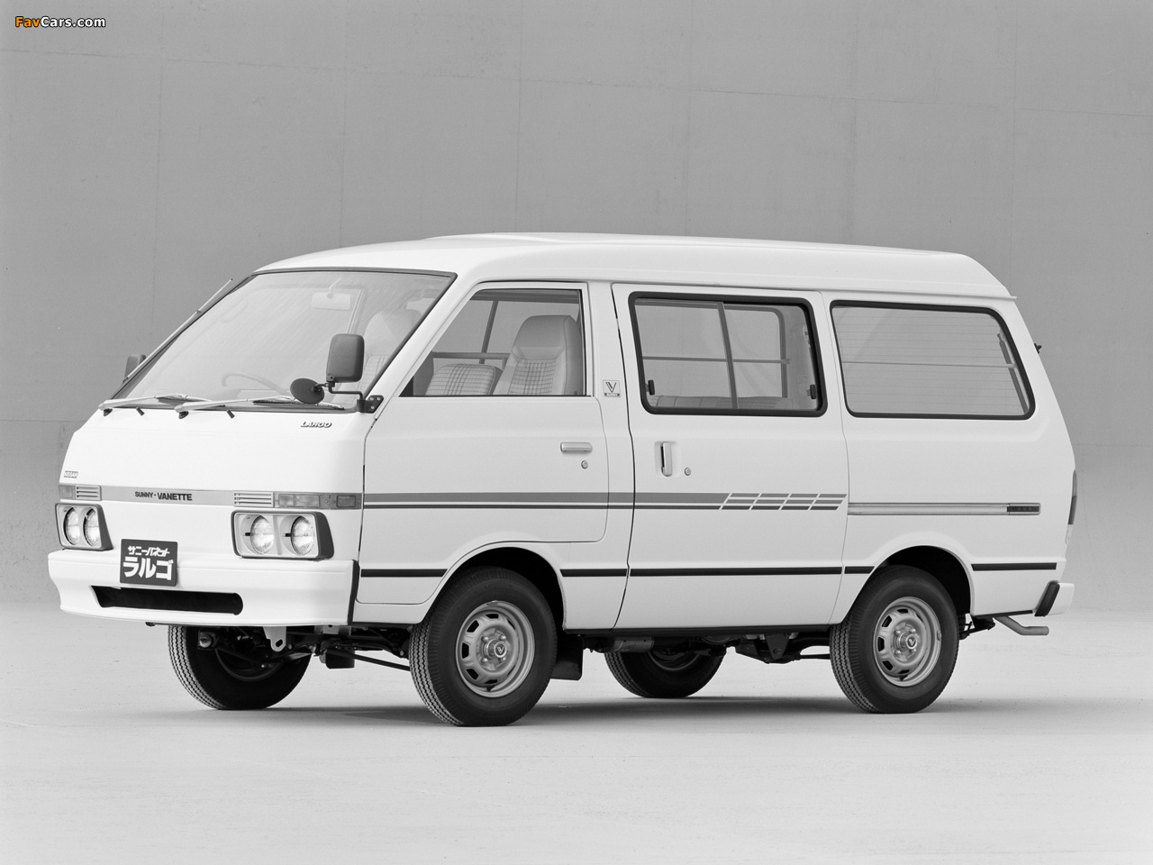 Images of Nissan Sunny Vanette Largo (GC120) 1982–86 (1280 x 960)