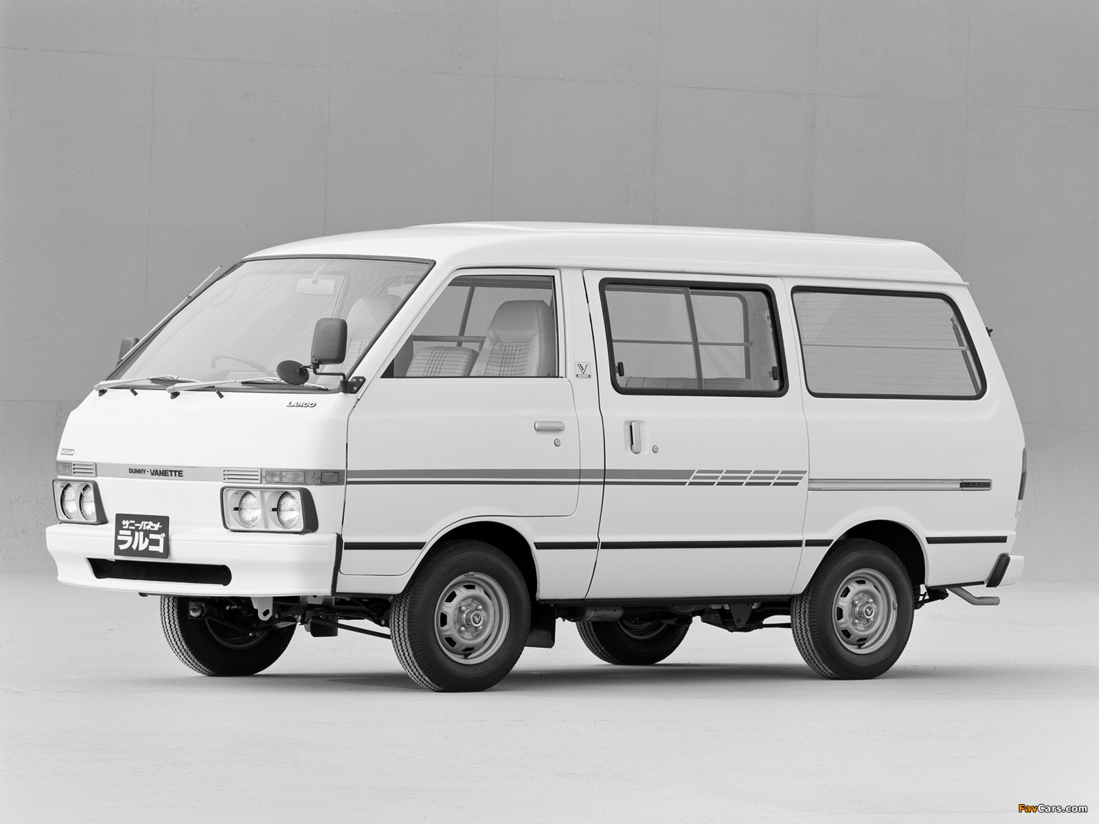 Images of Nissan Sunny Vanette Largo (GC120) 1982–86 (1600 x 1200)