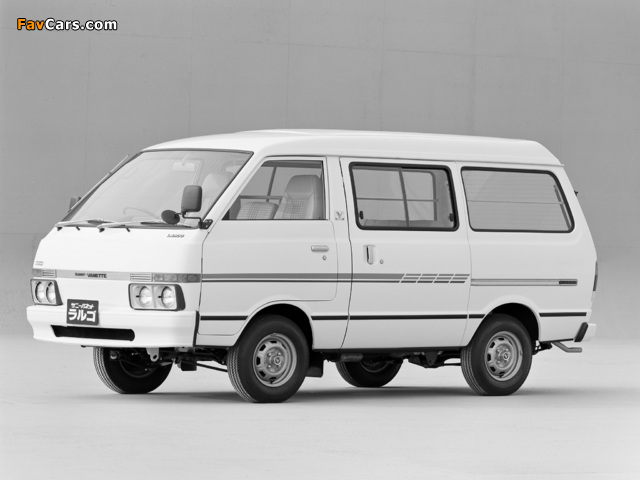 Images of Nissan Sunny Vanette Largo (GC120) 1982–86 (640 x 480)