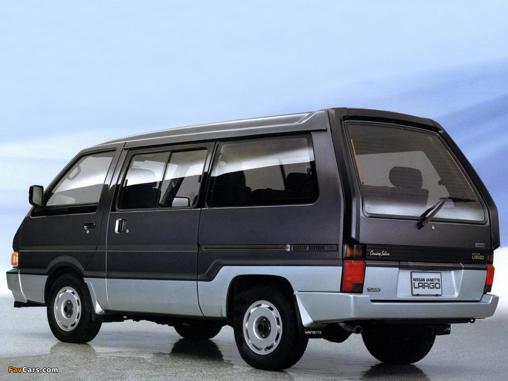 Images of Nissan Vanette Largo Coach (GC22) 1986–93 (1024 x 768)