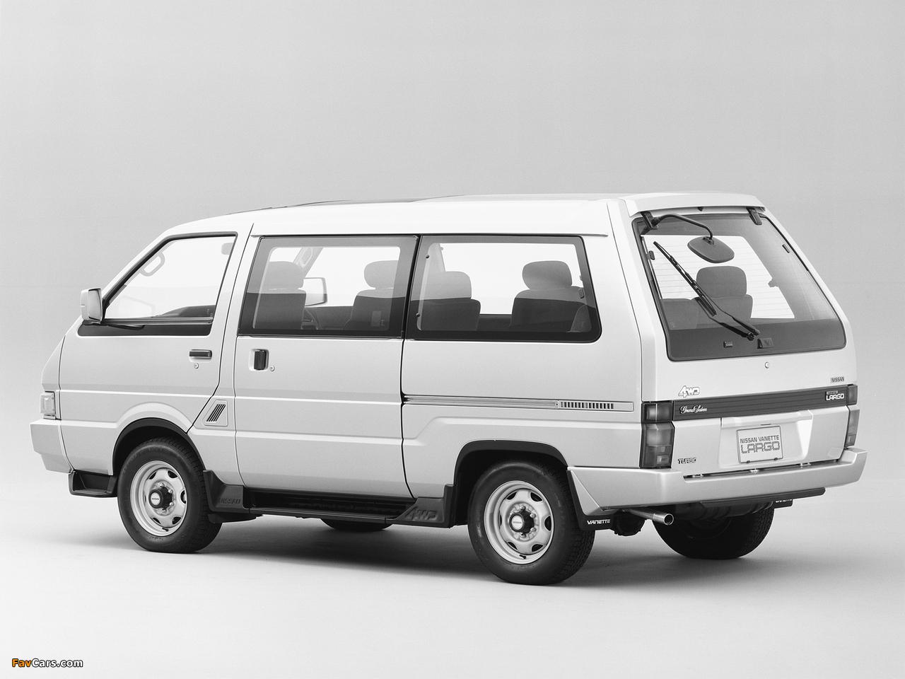 Images of Nissan Vanette Largo Coach (GC22) 1986–93 (1280 x 960)